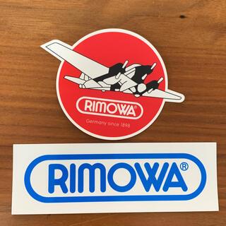 リモワ(RIMOWA)のリモワ ステッカー 2枚セット(旅行用品)