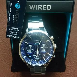 ワイアード(WIRED)の【美品】SEIKO WIRED ソーラー 腕時計 AGAD094  ワイアード(腕時計(アナログ))