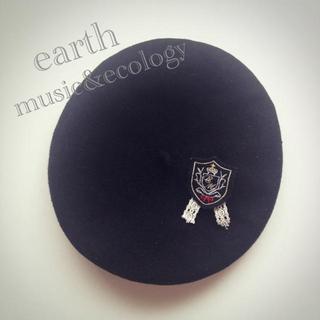 アースミュージックアンドエコロジー(earth music & ecology)のearth:ベレー帽(ハンチング/ベレー帽)