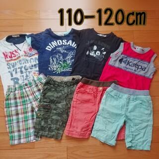 ユニクロ(UNIQLO)の110-120㎝  男の子 夏服まとめ売り 8点(その他)