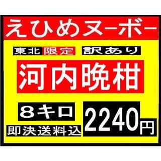 あんみつ様専用 えひめヌーボー 訳あり 河内晩柑 8キロ(東北限定)(フルーツ)