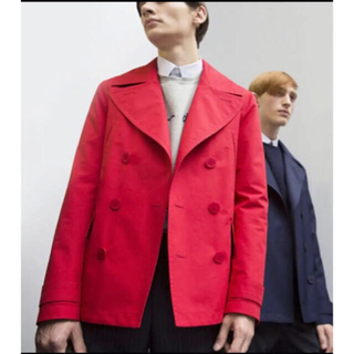 DIOR HOMME - Dior homme 15ss ピーコート スプリングコート