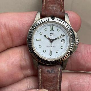 ジバンシィ(GIVENCHY)の不動品 GIVENCHY ジバンシー レディース腕時計 白文字盤(腕時計)