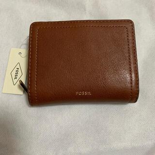 FOSSIL - フォッシル  二つ折り財布 ブラウン