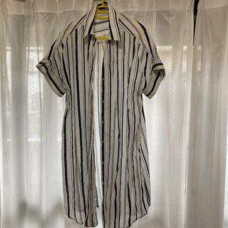 デュラス(DURAS)のシャツワンピース(シャツ/ブラウス(半袖/袖なし))