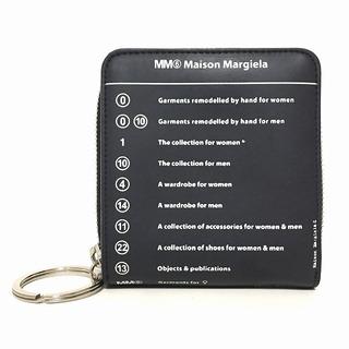 エムエムシックス(MM6)のMM6(エムエムシックス) - S54UI0066 黒×白(財布)