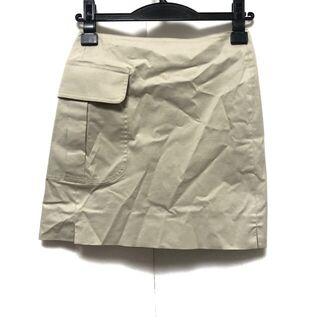 ロロピアーナ(LORO PIANA)のロロピアーナ サイズ38 S レディース美品 (ミニスカート)