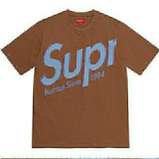 シュプリーム(Supreme)のSupreme Intarsia Spellout S/S TopM(Tシャツ/カットソー(半袖/袖なし))