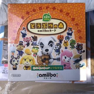 ニンテンドースイッチ(Nintendo Switch)のどうぶつの森  amiiboカード 第2弾 シュリンクなし 未開封box(Box/デッキ/パック)