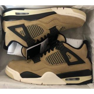 "Nike Air Jordan 4 Retro WMNS ""Mashroom""(スニーカー)"