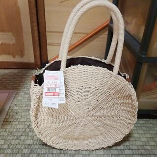 シマムラ(しまむら)の新品、最終価格、しまむら、サ─クルバッグ、カゴバッグ(かごバッグ/ストローバッグ)
