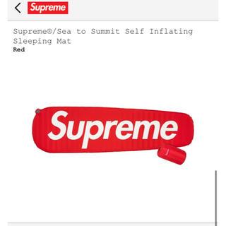 シュプリーム(Supreme)のsupreme Sea to Summit Sleeping Mat(寝袋/寝具)