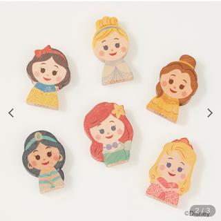 ディズニー(Disney)のKIDEA キデア ディズニー キャラクターセット プリンセス まとめ売り(積み木/ブロック)