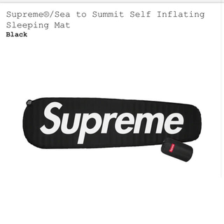 シュプリーム(Supreme)のSupreme × Sea to Summit Sleeping Mat  黒色(その他)