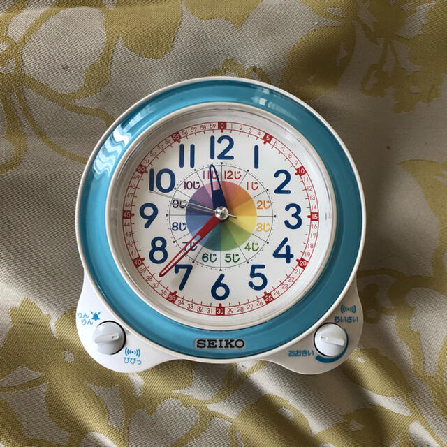 SEIKO(セイコー)の知育時計 セイコー SEIKO KR887L(ジャンク品) インテリア/住まい/日用品のインテリア小物(置時計)の商品写真