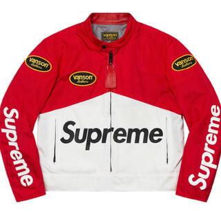 シュプリーム(Supreme)のSupreme Vanson Leathers Cordura Jacket. (ライダースジャケット)