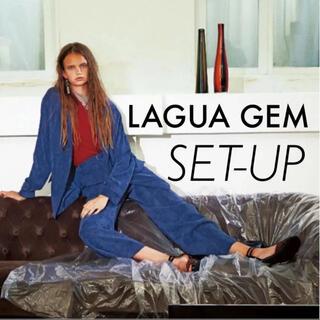 SLY - ラグアジェム  セットアップ コーデュロイ ブルー