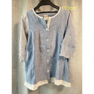 エスティークローゼット(s.t.closet)の子供服(3 )  110cm  前開きシャツ チュニックLittle S. T.(Tシャツ/カットソー)