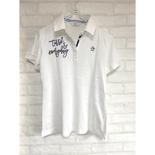 マンシングウェア(Munsingwear)の2点セット マンシングウェア ゴルフウェア Lサイズ 刺繍 ポロシャツ 半袖(ウエア)