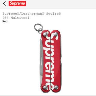 シュプリーム(Supreme)のSupreme Leatherman シュプリーム レザーマン スクオートPS4(その他)