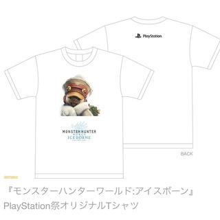 プレイステーション4(PlayStation4)のモンハン ワールド アイルー てTシャツ(その他)