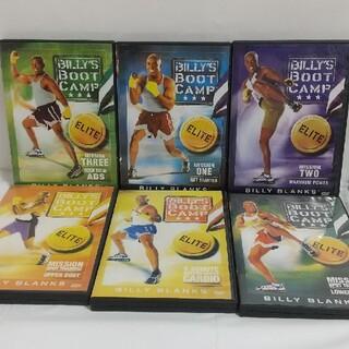ビリーズブートキャンプ DVD(スポーツ/フィットネス)