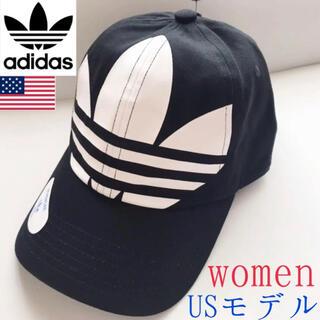 adidas - レア【新品】adidas USAレディース ビッグトレフォイルロゴデニムキャップ