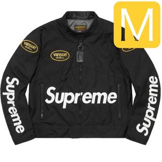 シュプリーム(Supreme)のSupreme Vanson Leathers Codura Jacket M(ライダースジャケット)