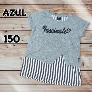 アズールバイマウジー(AZUL by moussy)のAZUL 重ね着風 カットソー 150(Tシャツ/カットソー)