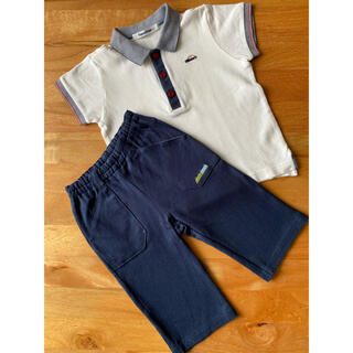 ファミリア(familiar)のfamiliar 子供服 ポロシャツ短パンセット(その他)