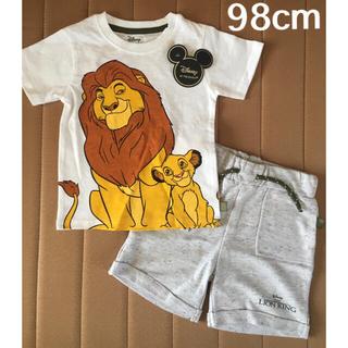 ディズニー(Disney)の日本未発売 ライオンキング Tシャツ&半ズボンセット 98cm(Tシャツ/カットソー)