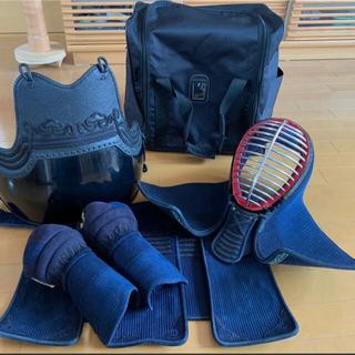 最終値下げ 剣道防具一式 美品 中学生 部活 防具袋 胴 垂れ 小手 面