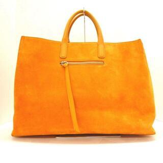 ペリーコ(PELLICO)のペリーコ美品  - オレンジ×ライトブラウン(ハンドバッグ)