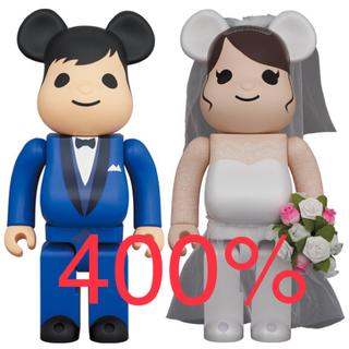 BE@RBRICK グリーティング結婚 4 PLUS 400%(その他)