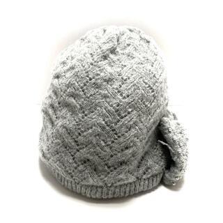 アンテプリマ(ANTEPRIMA)のANTEPRIMA(アンテプリマ) グレー(ニット帽/ビーニー)