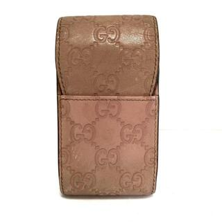Gucci - グッチ シマライン 181716 ライトピンク