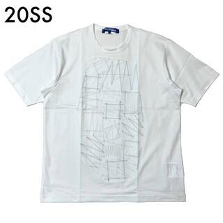 ジュンヤワタナベコムデギャルソン(JUNYA WATANABE COMME des GARCONS)の2020SS 新品 ジュンヤワタナベ マン Tシャツ コムデギャルソン ホワイト(Tシャツ/カットソー(半袖/袖なし))