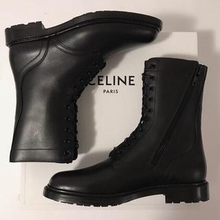 celine - Celine セリーヌ レースアップブーツ