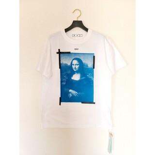 オフホワイト(OFF-WHITE)の21SS OFF-WHITE オフホワイト モナリザ ロゴ Tシャツ XL(Tシャツ/カットソー(七分/長袖))