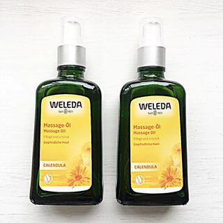 WELEDA - ヴェレダ カレンドラ マッサージオイル 100ml×2本