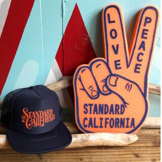 スタンダードカリフォルニア(STANDARD CALIFORNIA)のStandard California GR Logo Mesh Cap(キャップ)