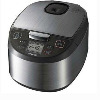 SHARP - シャープ SHARP KS-S10J-S(シルバー) ジャー炊飯器 5.5合