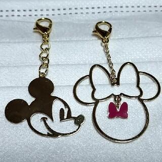 ディズニー(Disney)のマスクチャーム(ミッキー&ミニー⑧)(チャーム)