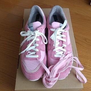 ドゥロワー(Drawer)のnovesta marathon trail all pink 37(スニーカー)