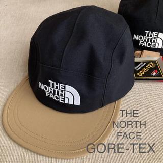 ザノースフェイス(THE NORTH FACE)のノースフェイス 新品未使用 GORE-TEX キャップ 正規店購入 ケルプタン(帽子)