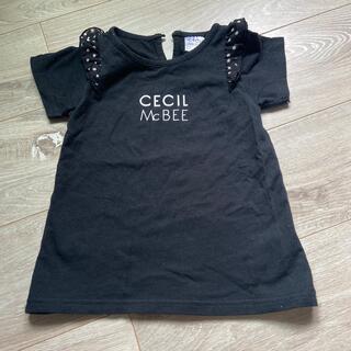 セシルマクビー(CECIL McBEE)の女の子Tシャツ(Tシャツ/カットソー)