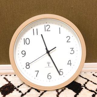 ニトリ(ニトリ)のニトリ 電波壁掛け時計(掛時計/柱時計)