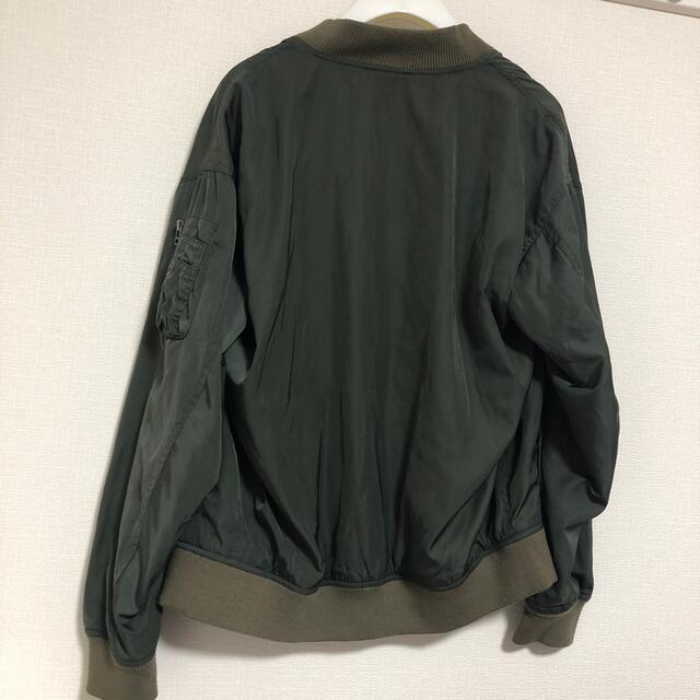 RAGEBLUE(レイジブルー)のRAGEBLUE ブルゾン カーキ ミリタリー メンズのジャケット/アウター(ブルゾン)の商品写真