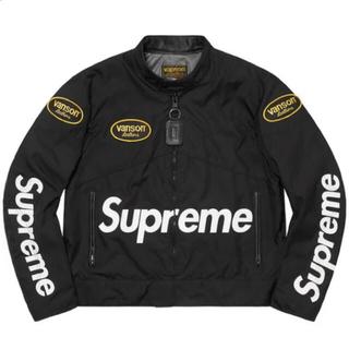 Supreme - SUPREME Vanson Leathers Cordura Jacket M