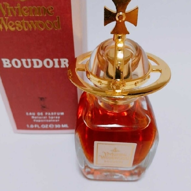Vivienne Westwood(ヴィヴィアンウエストウッド)のほぼ新品 ヴィヴィアン ウエストウッド ブドワール オードパルファム 30ml  コスメ/美容の香水(香水(女性用))の商品写真